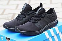 Летние мужские кроссовки ADIDAS BOUNCE черные