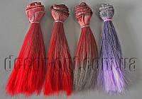 Волосы Омбре для кукол прямые 15см/~1м