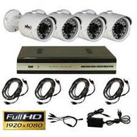 Kомплект HD видеонаблюдения Oltec AHD-QUATTRO-302
