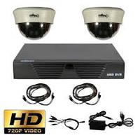 Kомплект HD видеонаблюдения Oltec AHD-DUO-911