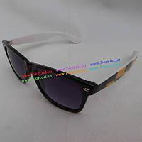 Очки солнцезащитные Tan2147-1 пластик 5 шт (12-18 лет) Чёрный