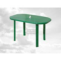 Стол овальный Консенсус 120*75 см Зеленый