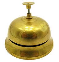 Звонок настольный бронзовый