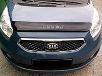 Дефлектор капота KIA Venga с 2009 г.в. (Киа Венга) Vip Tuning
