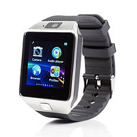 Умные часы Smart watch DZ09 silver+black