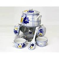 Набор для супа Interos Синий 15 пр SL-136-T