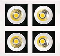Светодиодный поворотный  светильник Horoz HL6724L 4Х8W 6400K холодный белый Sabrina-32