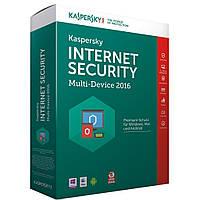 Программная продукция Kaspersky Internet Security 2016 Multi-Device 1+1 ПК 1 год Base Box (KL1941OBA