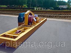 Устройство маневровое МУ-12М2А с тележкой