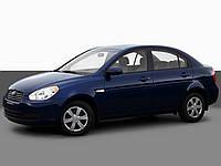 Накладки на панель Hyundai Accent (2006+)