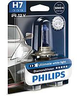 Галогенная лампа Philips Diamond Vision H7 12V 55W (12972DVB1)