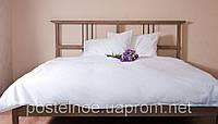 Белое постельное белье евро размер