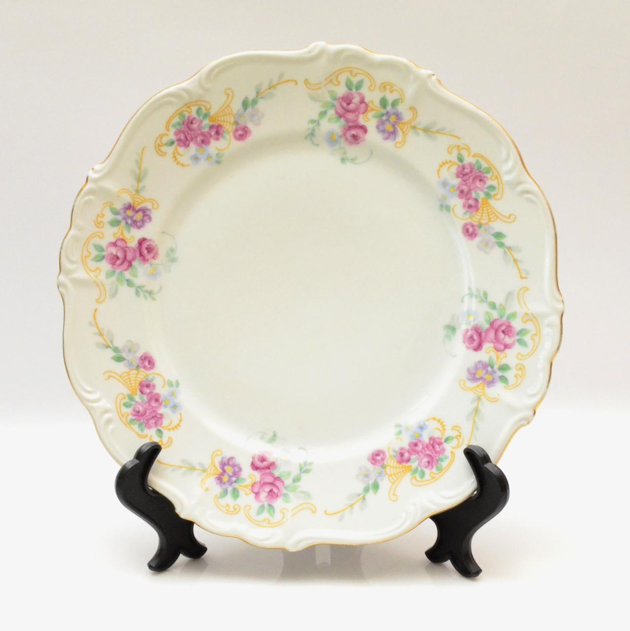 Старинная тарелка, фарфор, Германия, Edelstein Bavaria