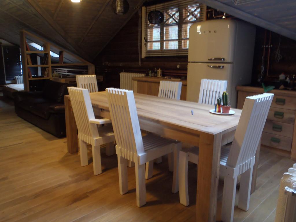 Интерьер деревянного дома 1