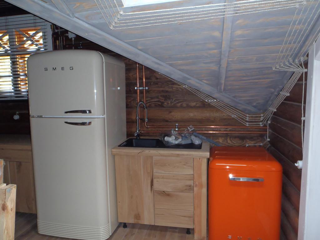 Интерьер деревянного дома 4