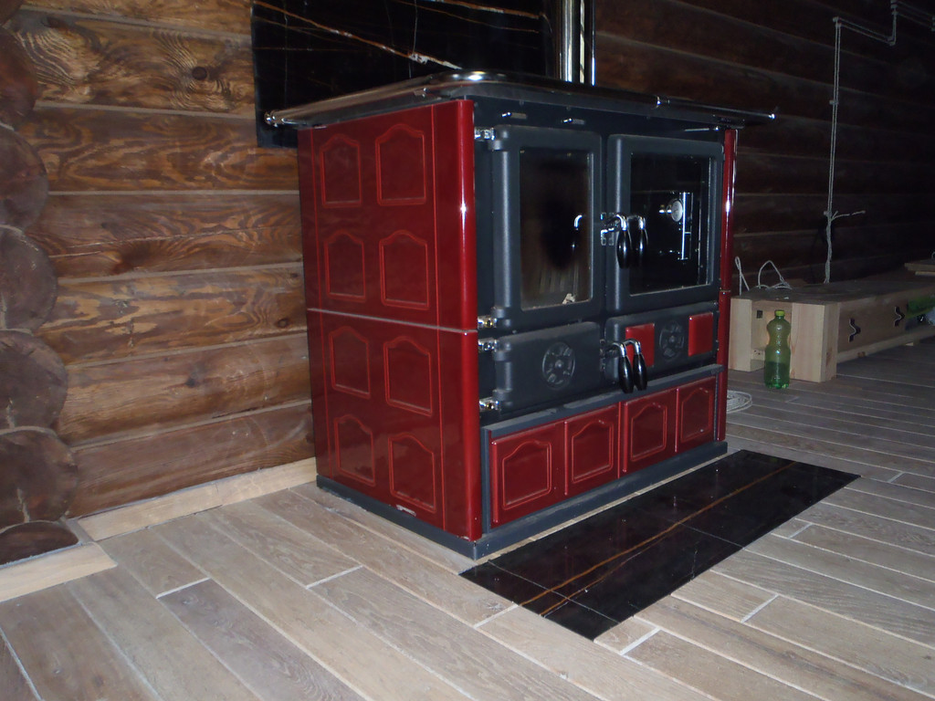 Интерьер деревянного дома 5