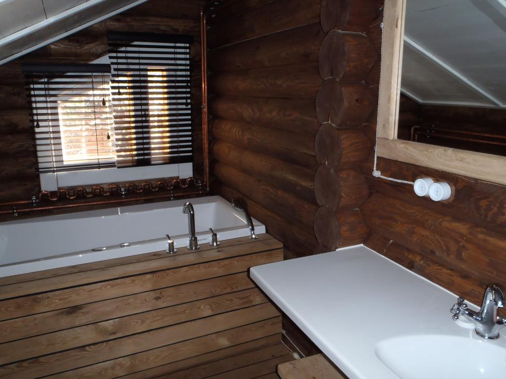 Интерьер деревянного дома 6