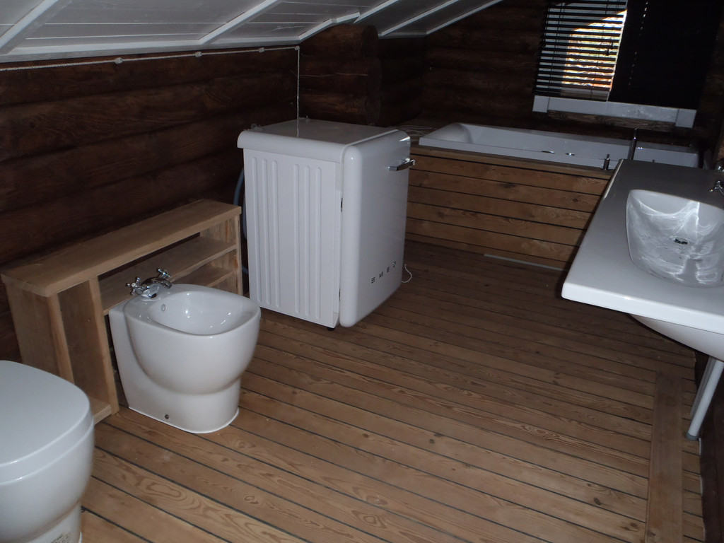 Интерьер деревянного дома 7