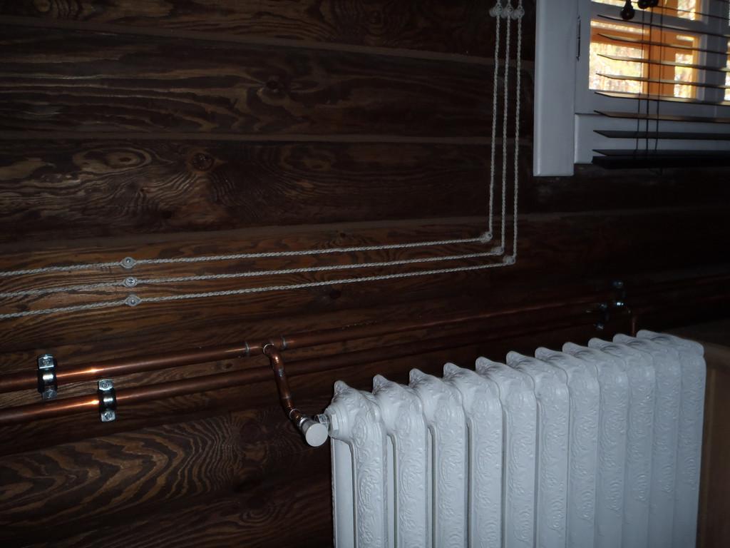 Интерьер деревянного дома 8