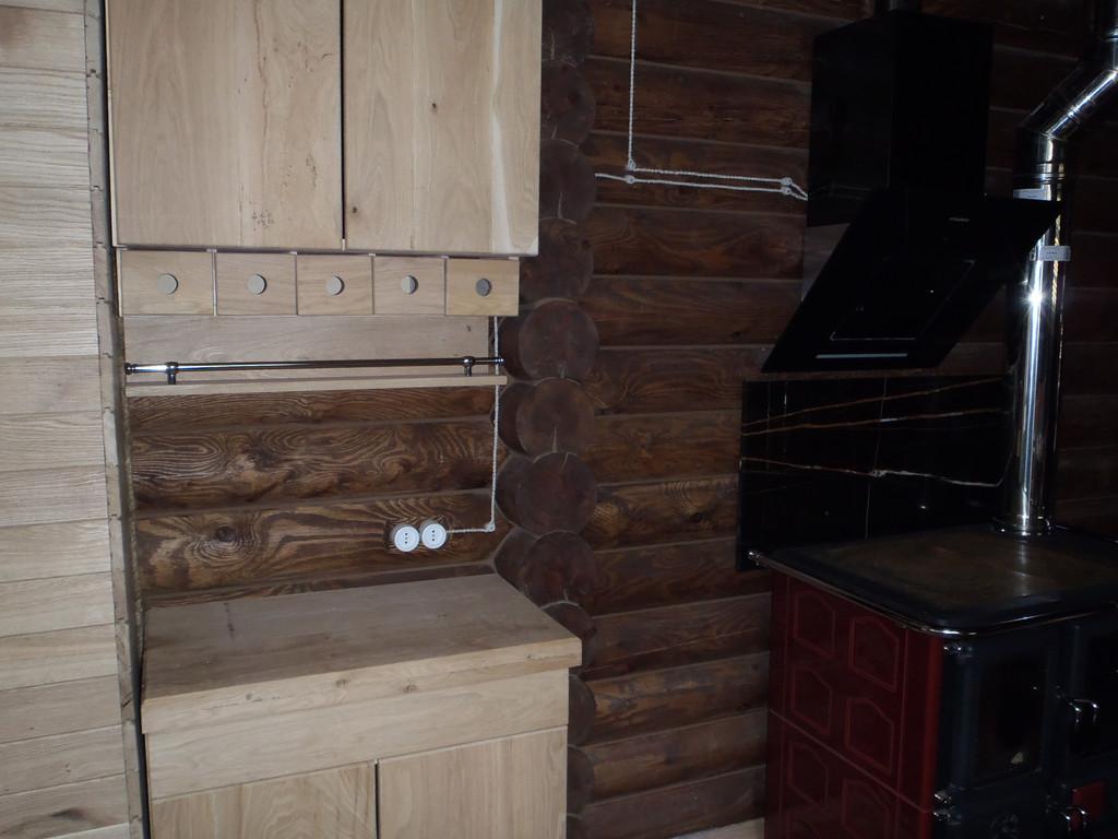 Интерьер деревянного дома 9