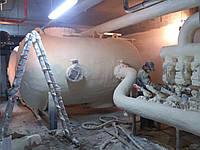 Гидроизоляция, теплоизоляция напыляемым пенополиуретаном труб и трубопроводов в Украине