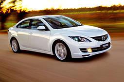 Накладки на пороги Mazda 6 (2008+)