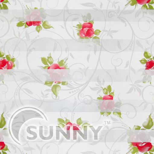 Тканевые ролеты День-ночь DN-Roses