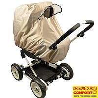 Универсальный тканевый дождевик на коляску, Kinder Comfort