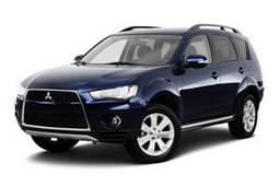 Накладки на пороги Mitsubishi Outlander (2006-2012)