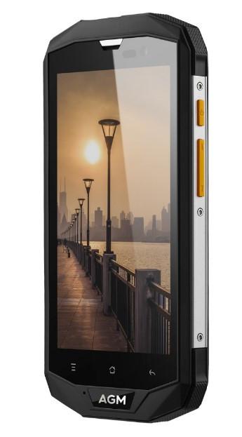 Захищений протиударний невмирущий смартфон AGM A8 - Snapdragon 410, 3/32GB 4050 mAh, Android Nougat