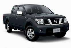 Накладки на пороги Nissan Navara