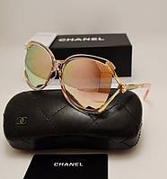 Женские солнцезащитные очки Chanel 7176 розовый перламутр