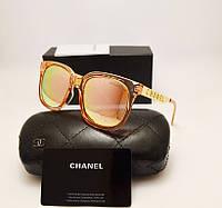 Женские солнцезащитные очки Chanel 1142 Розовый перламутр