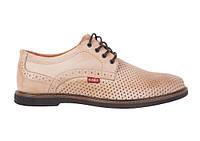 Кожаные летние туфли Bumer К 4