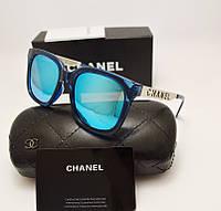 Женские солнцезащитные очки Chanel 1142 Синий цвет