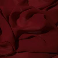 Шифон бордовый