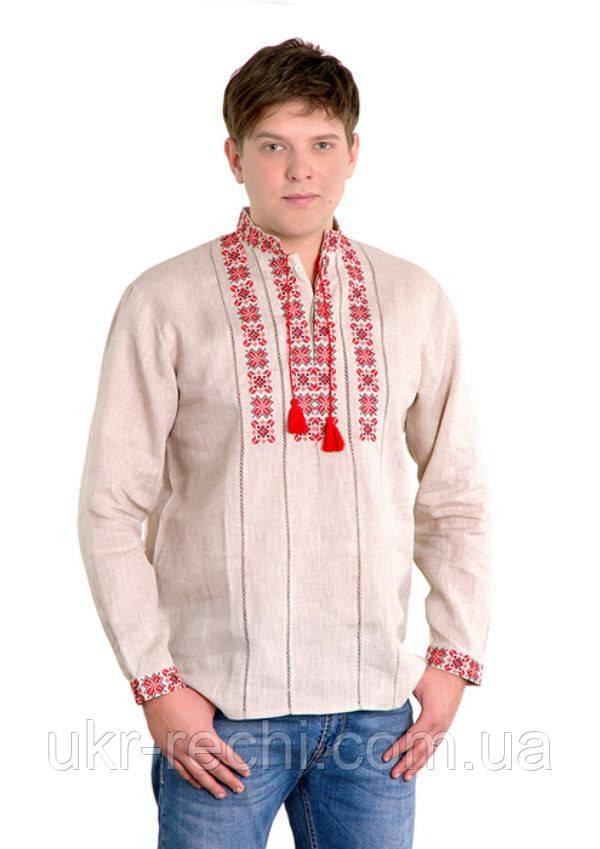 Сорочка вишита хрестиком та оздоблена мережкою 22fce5c4f9a89