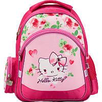 Рюкзак для девочек школьный 521 Hello Kitty HK17-521S Kite