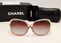 Женские солнцезащитные очки Chanel 1861 Розовый перламутр
