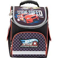 Рюкзак для мальчиков школьный каркасный (ранец) 501 Hot Wheels-3 HW17-501S-3 Kite