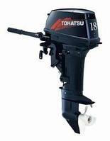 Двухтактный лодочный мотор Tohatsu M18S(лодочный мотор недорого, лодочный бензомотор)