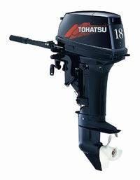 Двухтактный лодочный мотор Tohatsu M18S(лодочный мотор недорого, лодочный бензомотор), фото 2