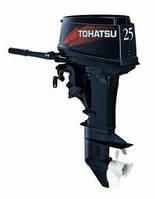 Двухтактный лодочный мотор Tohatsu M25S(бензомотор для лодок, мотор недорого)