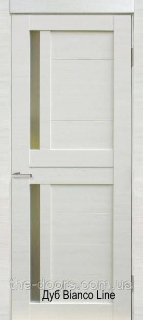 Двери Deco 01 ОМиС пленка Cortex стекло органическое