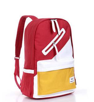 Распродажа Стильный тканевый рюкзак Goodlucky для учебы унисекс, фото 2