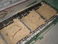 Транспортер (конвейер) скребковый, подачи щепы в котел 7-10 м3/час