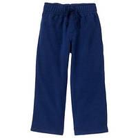 Штаны флисовые для мальчиков 1.5-2 года Темно-синие Crazy8 (США)