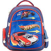 Рюкзак мальчику школьный 510 Hot Wheels HW17-510S Kite