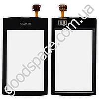 Тачскрин (сенсор) Nokia 305, 306 Asha, цвет черный, высокое качество