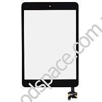 Тачскрин (сенсор) iPad Mini  iPad Mini 2 Retina, цвет черный, с кнопкой
